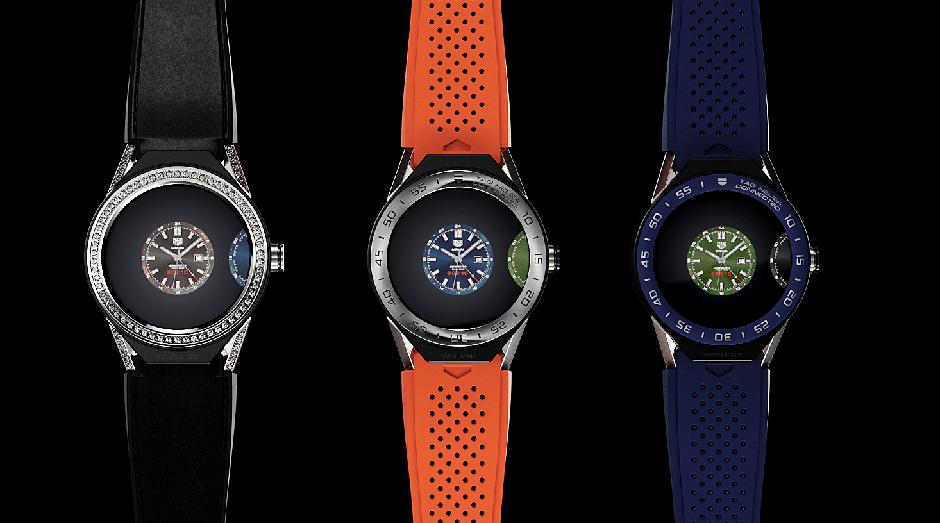 TAG Heuer Connected Modular Watchfaces (Foto: Divulgação)