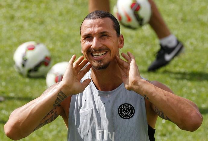 Ibrahimovic PSG (Foto: AP)