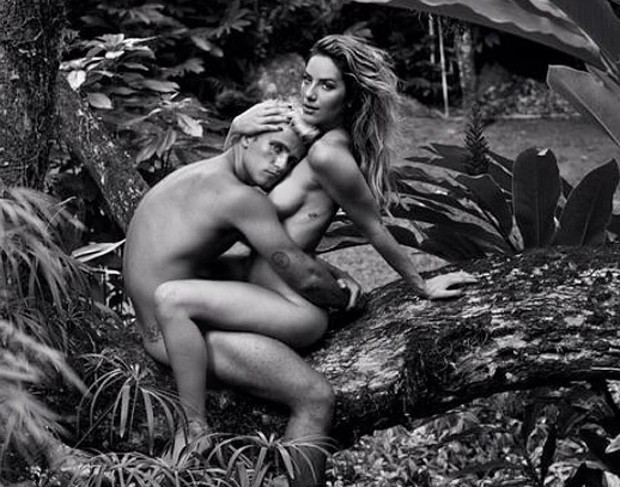 Giovanna Ewbank e Bruno Gagliasso (Foto: Jorge Bispo)
