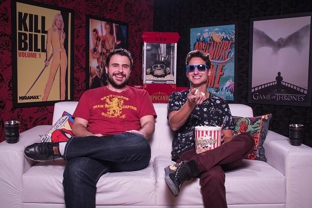 Bruno Rock e Rolandinho estreiaram o canal em 2013 (Foto: Divulgação)