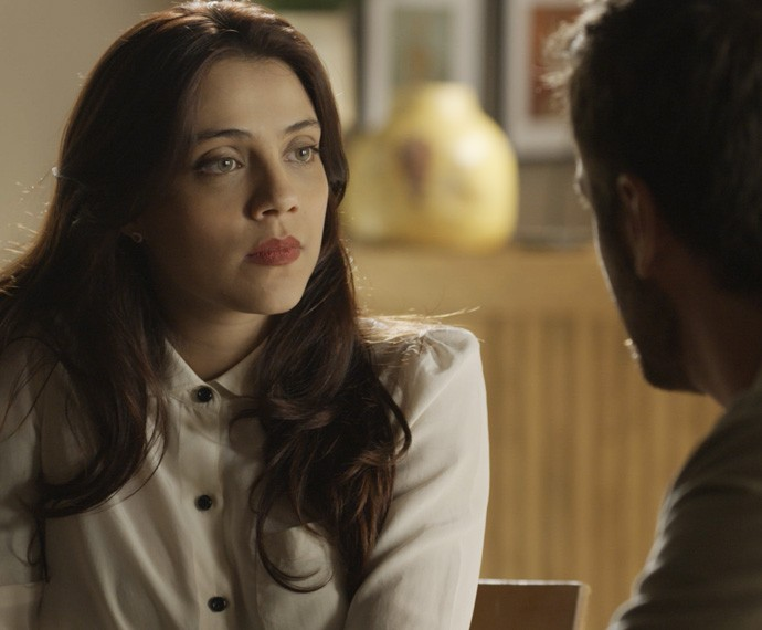 Anita leva um susto com a atitude de Pedro (Foto: TV Globo)