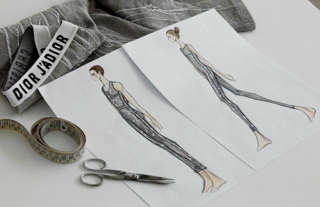 Falls the Shadow: Maria Grazia Chiuri assina figurino de balé do Guggenheim Museum (Foto: Divulgação)
