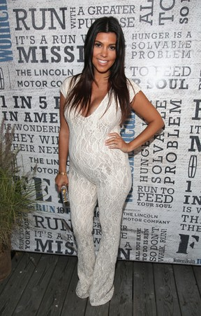 Kourtney Kardashian (Foto: Getty Image)