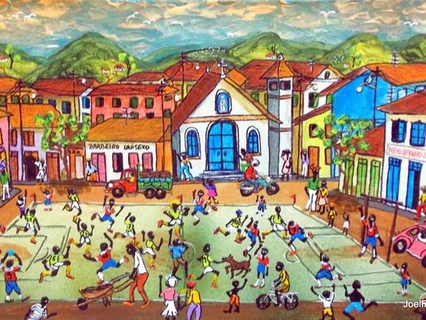 Pinturas de Rocha Maia ficarão expostas a partir desta sexta (Foto: Divulgação)