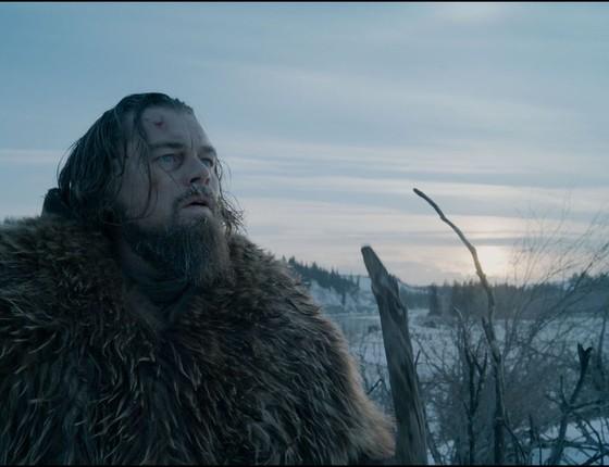 """Leonardo DiCaprio em """"O regresso"""" (Foto: Reprodução)"""