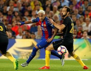 Barcelona x Atletico de Madrid Neymar (Foto: Reuters)
