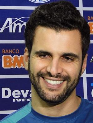 treino do time de vôlei do Cruzeiro (Foto: Gabriel Medeiros / Globoesporte.com)