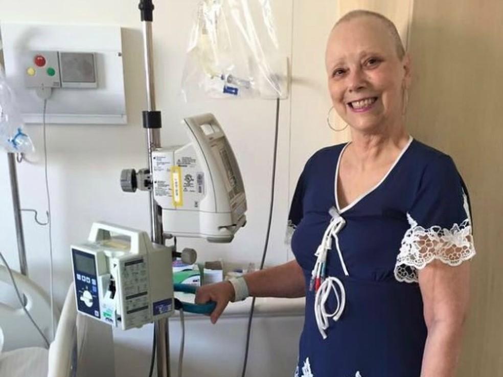 Rose Sachetti fez transplante de medula óssea no ano passado (Foto: Assessoria/ Adilton Sachetti)