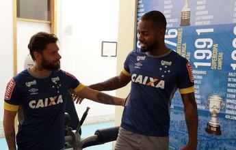 Sem perder tempo: Rafael Sobis  já treina na academia do Cruzeiro