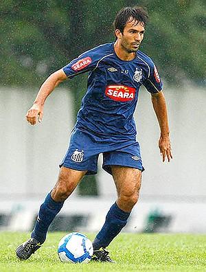 Roberto Brum no treino do Santos (Foto: Divulgação / Site Oficial do Santos)