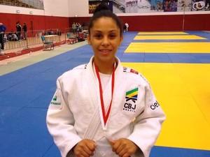 Bianca Vilma conquista ouro em torneio de judô na Alemanha (Foto: Divulgação/FJMS)