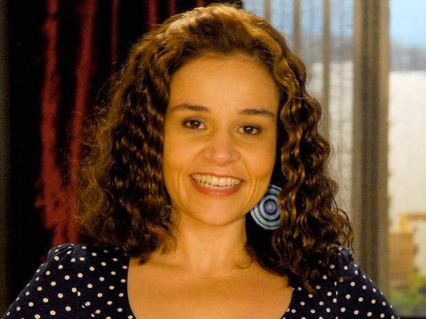 "Claudia Rodrigues em ""A Diarista"" (Foto: CEDOC/TV Globo)"