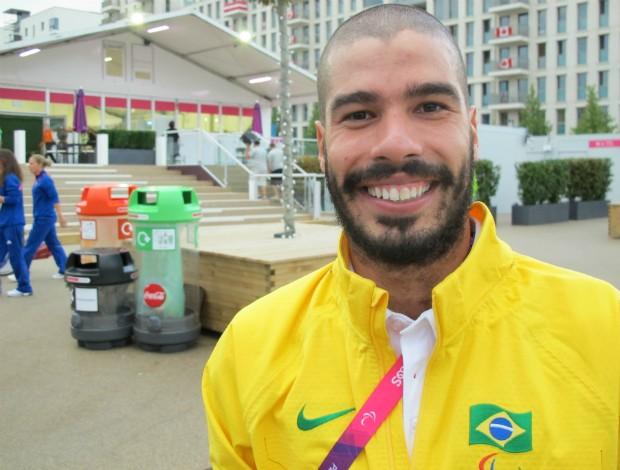 Daniel Dias, natação em londres (Foto: Cahê Mota / Globoesporte.com)