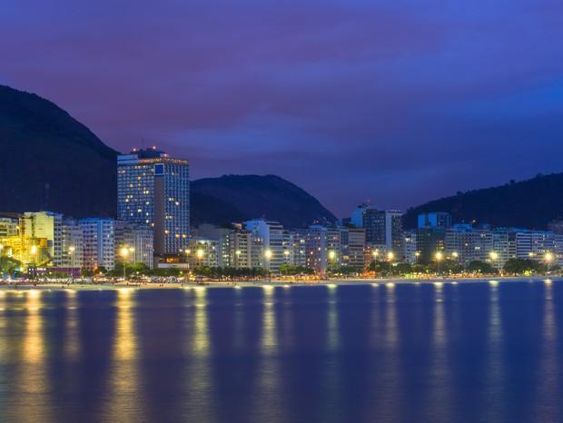 Sofisticação e vista inigualável são pontos altos dos hotéis de alto padrão em Copacabana  (Foto: Thinkstock)