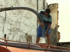 Carros-pipa começam a abastecer municípios atingidos pela seca em AL