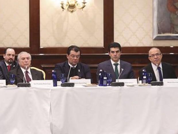O vice-presidente Michel Temer viajou à Rússia com uma comitiva de ministros (Foto:  Romério Cunha / Divulgação Vice-Presidência)