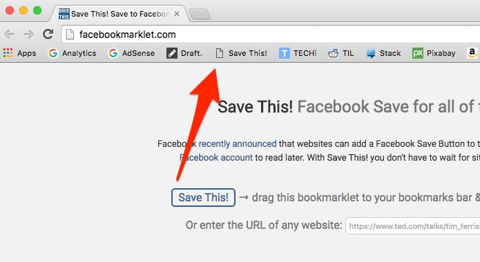 Arraste o ícone da ferramenta para a barra de favoritos (Foto: Reprodução/Alessandro Junior)