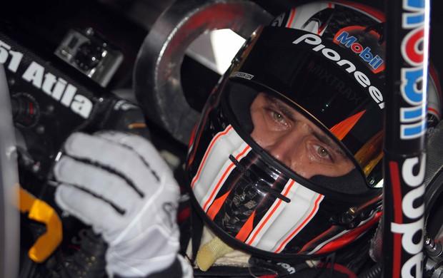 Stock Car - Átila Abreu no cockpit do carro (Foto: Luca Bassani / divulgação)