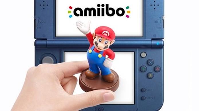 Bonecos com suporte a NFC como a série Amiibo serão compatíveis com o New Nintendo 3DS (Foto: ign.com)