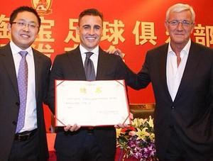 Fabio Cannavaro, Treinador Guangzhou (Foto: Reprodução / Twitter)