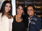 Gretchen nega volta de Thammy Miranda e Andressa: 'São só amigos'