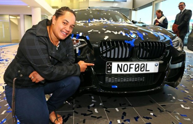 BMW ganhadora (Foto: Divulgação)