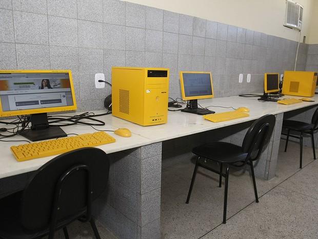 Oficinas serão gratuitas e funcionarão na sala de informática da biblioteca (Foto:  Ilustrativa/ Victor Ribeiro/ASN)