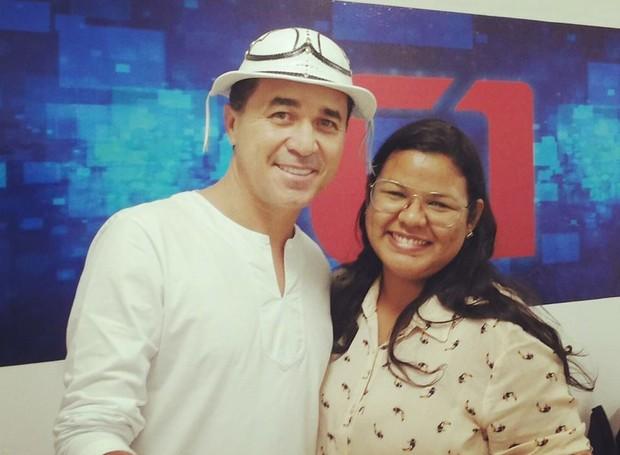 Carol Souza é editora dos telejornais da TV Grande Rio (Foto: Arquivo Pessoal)