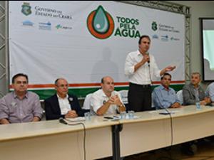 Água do mar após retirada do sal deve suprir 15% da demanda de Fortaleza (Foto: Governo do Estado/Divulgação)
