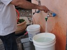 Serviço suspende fornecimento de água  (Jenifer Carpani/G1)