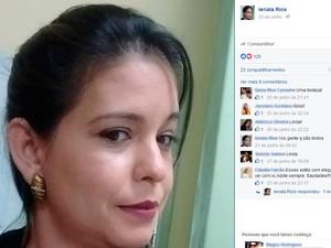 Professora Ienata Pedreira Rios (Foto: Reprodução/Facebook)