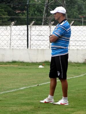 Wagner Lopes, técnico do Comercial-SP (Foto: João Fagiolo / Globoesporte.com)