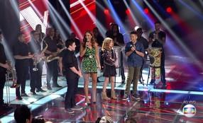 Ivete Sangalo canta 'Sorte grande' com os semifinalistas