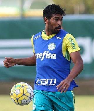 Thiago Santos Palmeiras (Foto: Cesar Greco/Ag Palmeiras)