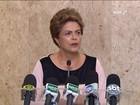 Dilma diz que não tem motivo para desconfiar do vice, Michel Temer