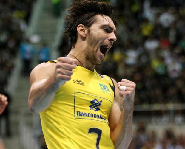 Giba brilhou na Seleção Brasileira de Vôlei (Foto: Divulgação)
