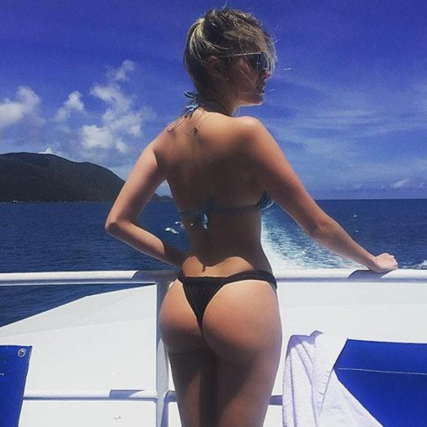 Bárbara Evans em Cairns, na Austrália (Foto: Instagram/ Reprodução)