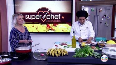 Finalistas do Super Chef Celebridades preparam prato final