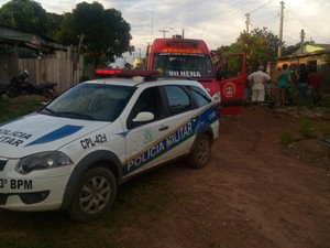 Idoso morreu após agressões em Vilhena, RO (Foto: Rota Polícial News/ Reprodução)