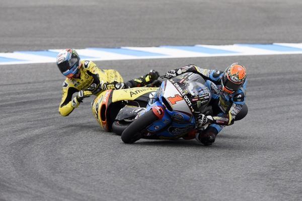 Alex Rins crash Jerez 2015 Mundomoto