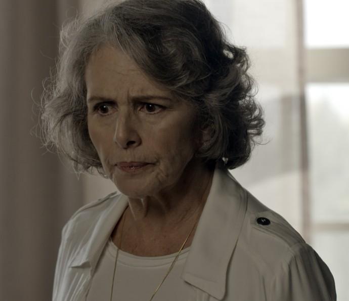 Vitória diz que não perdoa Alberto  (Foto: TV Globo)