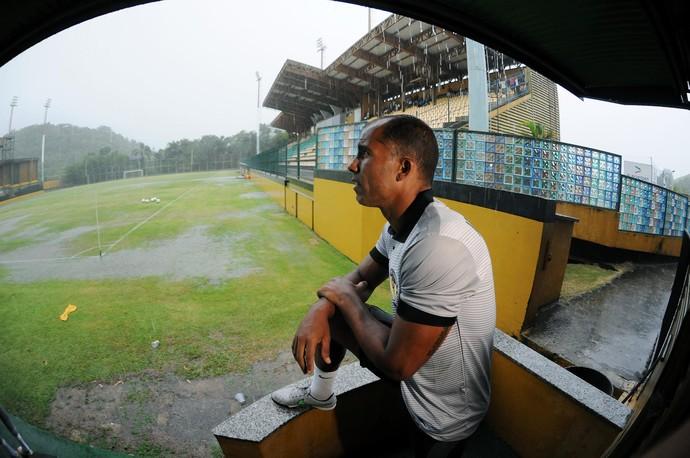 Felipe, jogo Tigres x Cabofriense - Estádio Los Larios (Foto: Alexandre Durão)