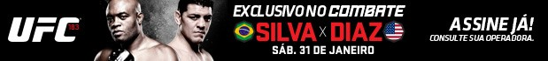 Banner UFC 183 (Foto: Combate)