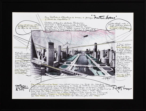 Metrô Aéreo, Loeb Capote Arquitetura e Urbanismo (Foto: divulgação)
