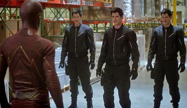 Barry descobre Multiplex, um novo metahumano que é capaz de se multiplicar (Foto: Divulgação)