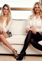 Monique e Bárbara Evans fazem ensaio de moda juntas, em comemoração ao Dia das Mães
