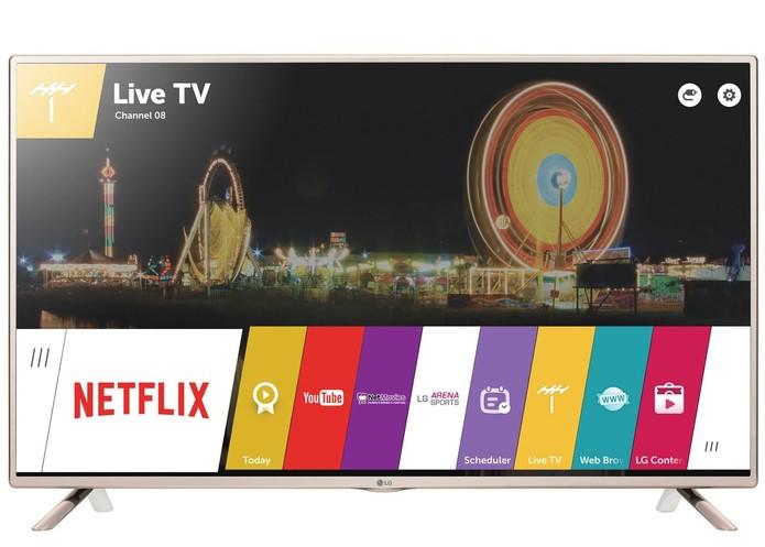 Smart TV de 32 polegadas com conexões HDMI e USB (Foto: Divulgação/LG)