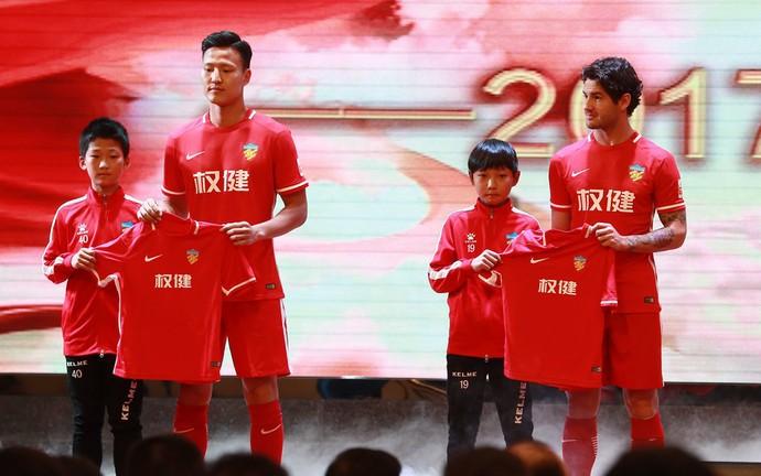 Alexandre Pato Tianjin Quanjian (Foto: Sina.com)