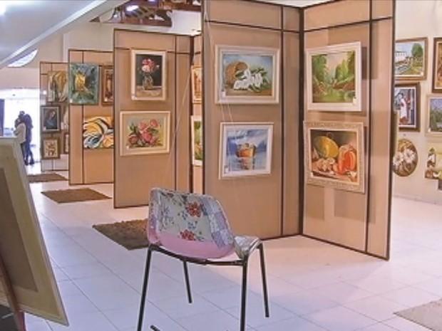 Mostra itinerante convida criança e famílias para exposição (Foto: Reprodução / TV TEM)