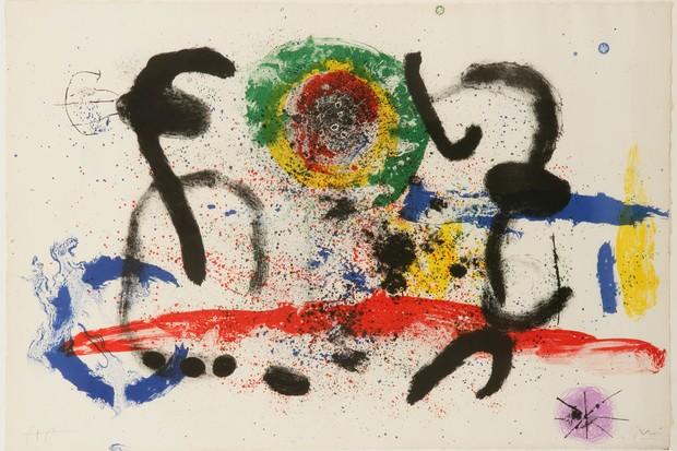 """La cascade"", de Miró (Foto: Divulgação)"